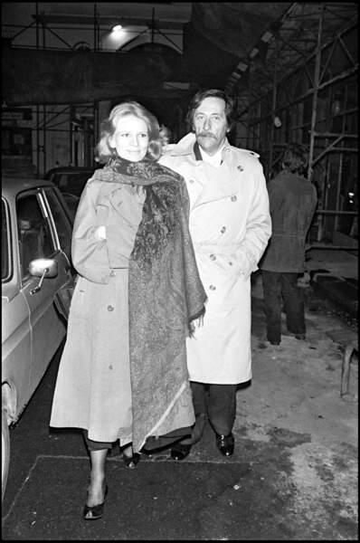 Jean Rochefort et Nicolas Garcia en 1981