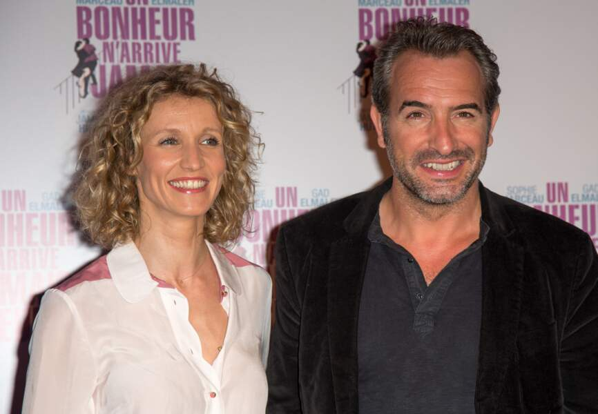 Alexandra Lamy et Jean Dujardin ont tenu de longs mois face aux rumeurs de séparation avant d'officialiser