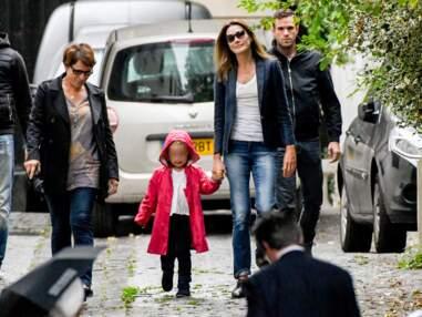 Giulia Sarkozy fait sa rentrée des classes