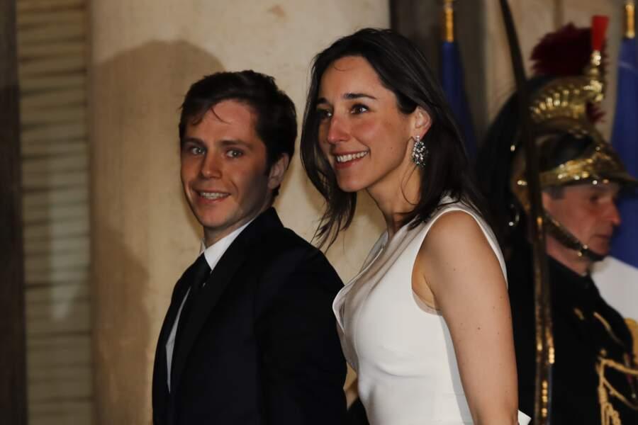 Brune Poirson et M. Anglade est député LREM des Français établis au Benelux