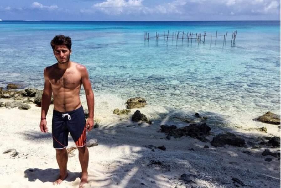 Tximista Lizarazu, ultra sexy sur la plage