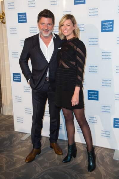 Philippe Lellouche et sa compagne Vanessa Boisjean se sont affichés proches et tout sourire