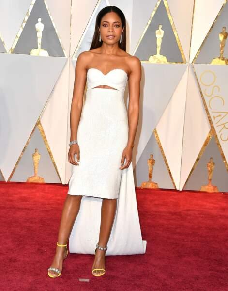 Naomie Harris à la cérémonie des Oscars le 26 fevrier 2017