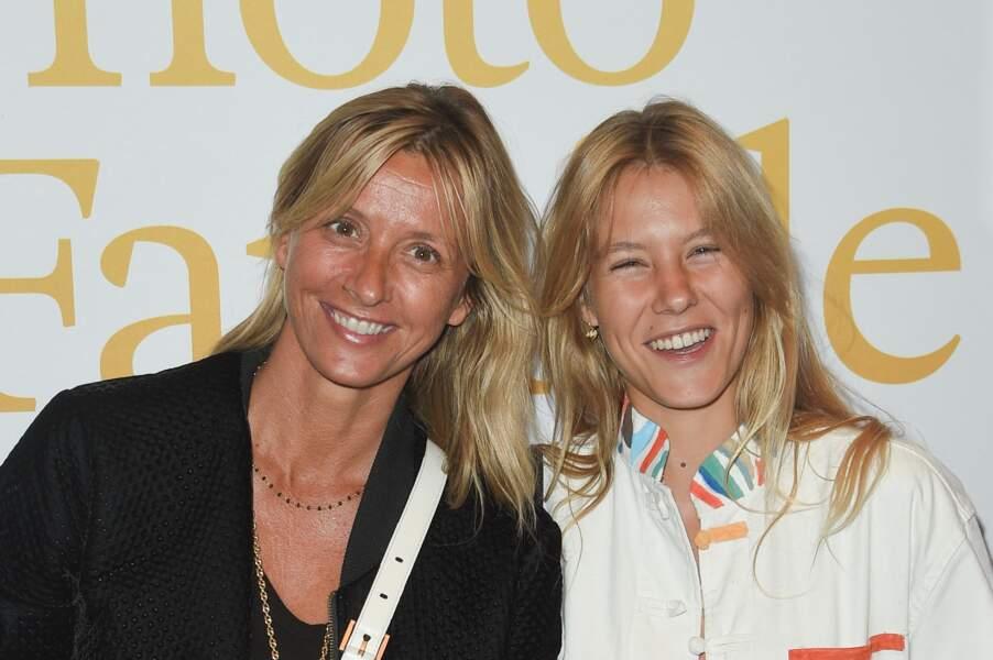Sarah Lavoine et sa fille Yasmine