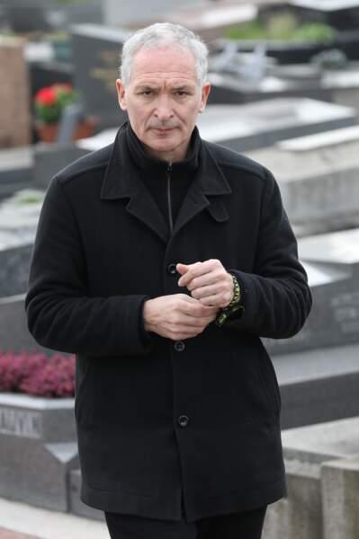 Christian Jeanpierre lors des obsèques de Véronique Colucci