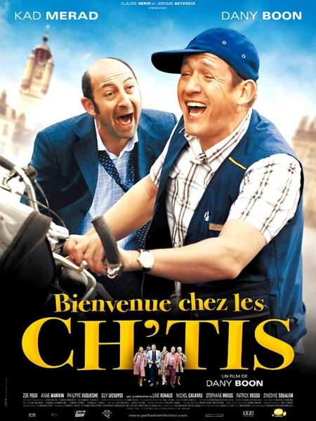 En 2008, Bienenue chez les Ch'tis est une consécration pour Dany Boon
