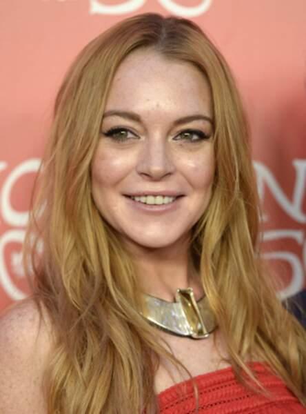 Le roux blond de Lindsay Lohan