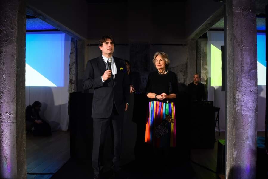 Philippe d'Ornano, PDG de Sisley et sa mère  Isabelle d'Ornano