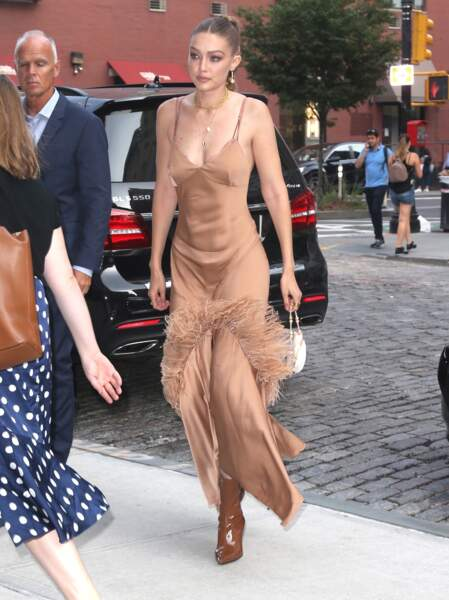 Gigi Hadid a choisi un look qui n'est pas passé inaperçu !
