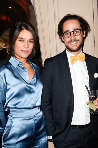 Thomas Hollande et la journaliste Emilie Tran Nguyen