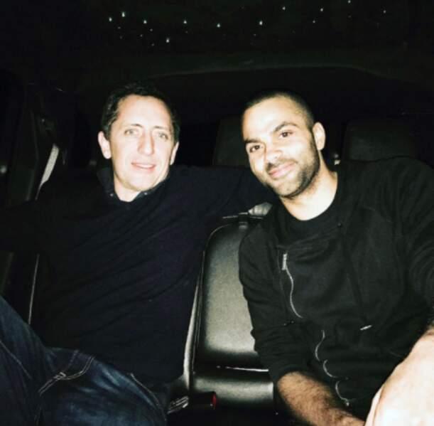 Gad Elmaleh et Teddy Parker