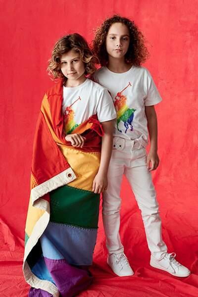 """Ralph Lauren lance une collection sur le thème de """"Pride Month"""" même pour les enfants"""
