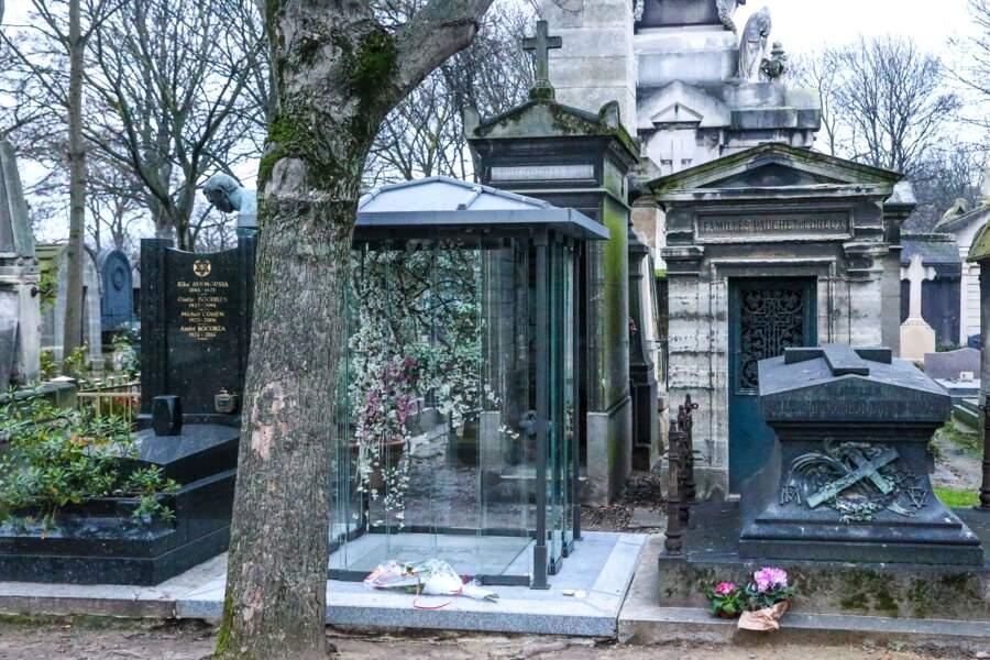 Le caveau familiale au cimetière de Montmartre où France Gall rejoindra sa fille Pauline Hamburger et Michel Berger