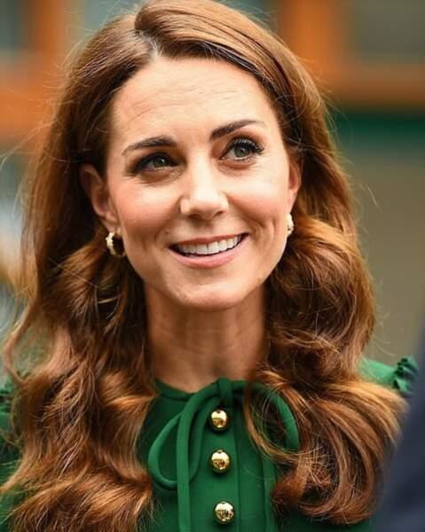 Kate Middleton, radieuse comme à son habitude