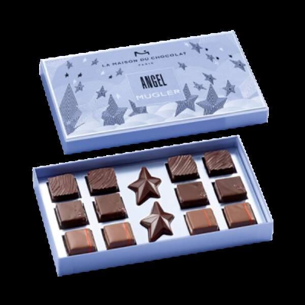 Coffret 25 €, disponible dans toutes les boutiques La Maison du Chocolat et sur le site
