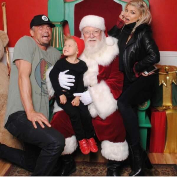 Fergie, Josh Duhamel et leur petit Axl