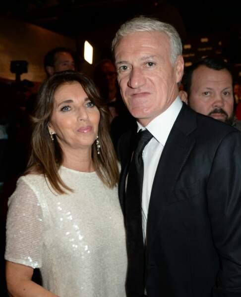 Didier Deschamps et sa femme Claude à la soirée GQ