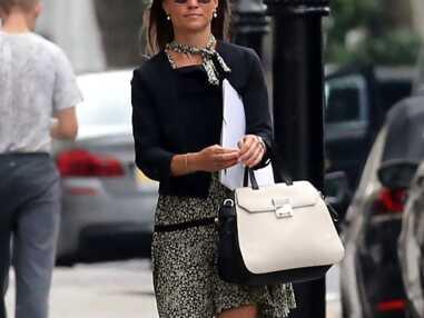 Pippa Middleton sublime dans sa robe bohème Sandro Paris