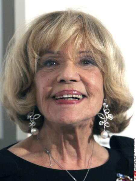 Lors des Césars en 2008, elle se voyait remettre un prix sa carrière exceptionnelle
