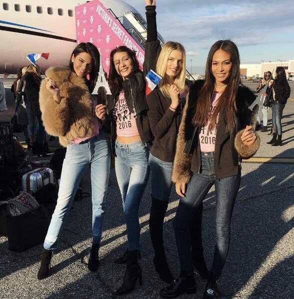 Kendall Jenner, Bella Hadid, Lily Donaldon et Joann Smalls
