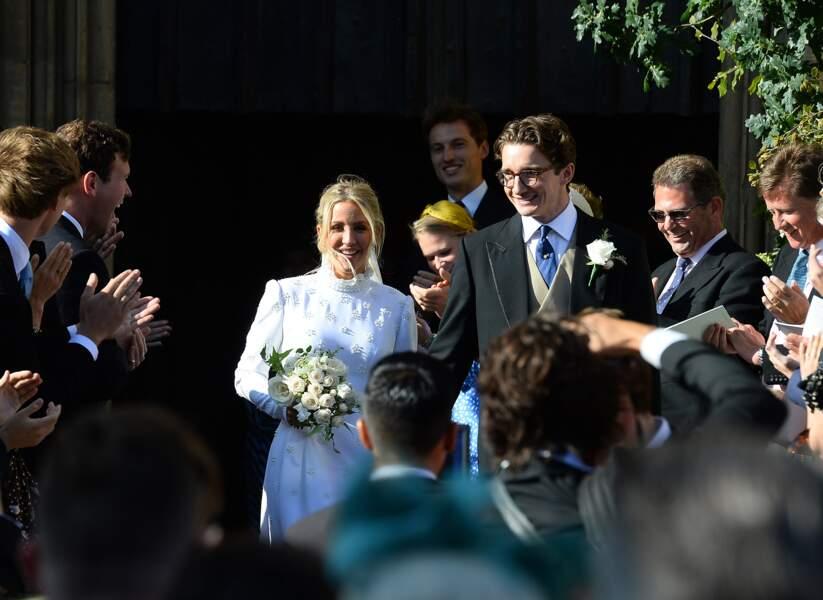 Ellie Gouldong et son mari Caspar Jopling se sont mariés le samedi 31 août, à Londres.