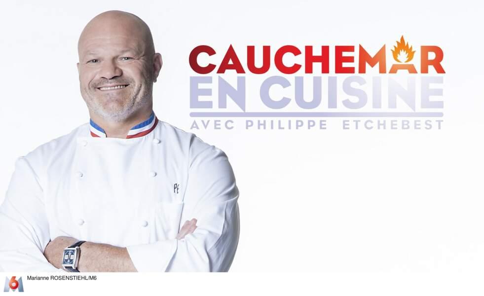 """Philippe Etchebest, animateur de """"Cauchemar en Cuisine"""" depuis 2011"""