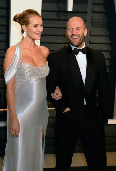 Jason Statham et Rosie Huntington Whiteley sont parents d'un petit Jack Oscar, né le 28 juin dernier