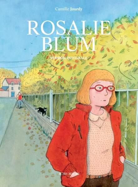 La couverture de l'intégrale de Rosalie Blum, éditions Actes Sud BD