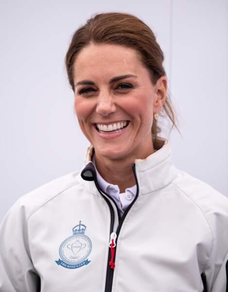 Malgré les circonstances, Kate Middleton n'a pas oublié de se mettre en valeur
