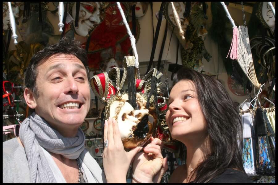 Daniel Ducruet et Kelly Marie Lancien s'amusent comme des fous