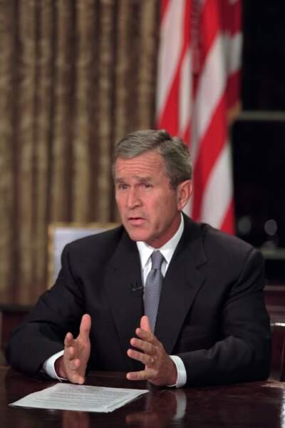 Georges W. Bush, 2001...