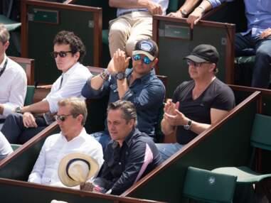 PHOTOS - Estelle Lefébure et David Hallyday aperçus à Roland-Garros