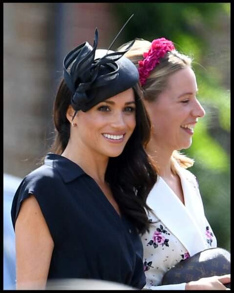 Meghan Markle accompagnait le prince au mariage de son meilleur ami, Charlie van Straubenzee.