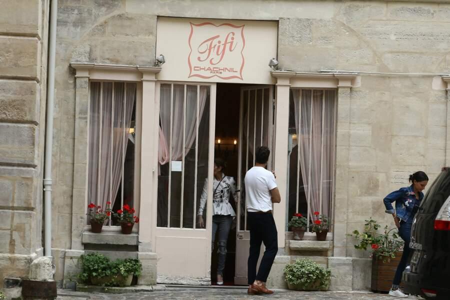 Céline Dion a acheté des dessous à la boutique de lingerie Fifi Chachnil