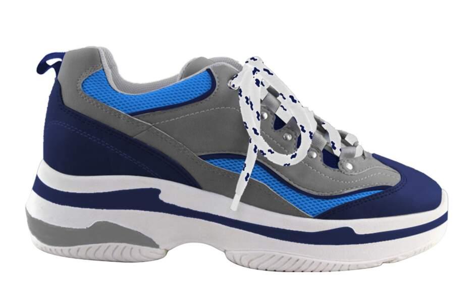 Branchée, basket Cassis, 99 € (chaussurecassis.com).