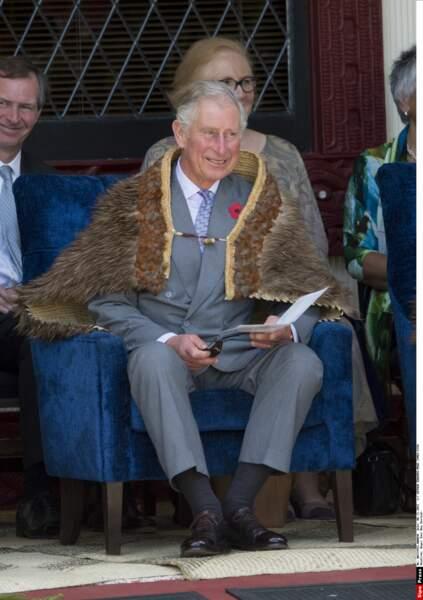 Visite en Nouvelle Zelande pour le Prince Charles
