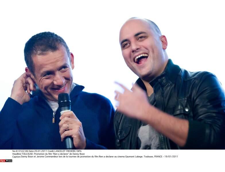 En 2008, Dany Boon produit Jérôme Commandeur
