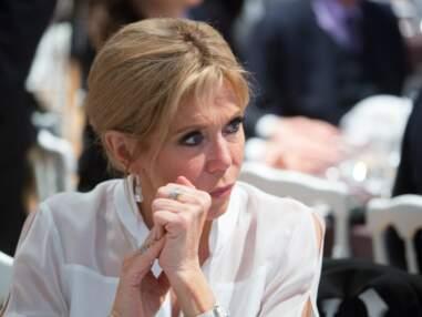 Brigitte Macron ultra chic en tailleur noir pour le dîner du CRIF