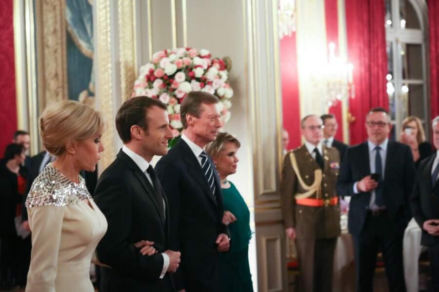 Ils ont accueilli Henri et Maria-Teresa de Luxembourg...