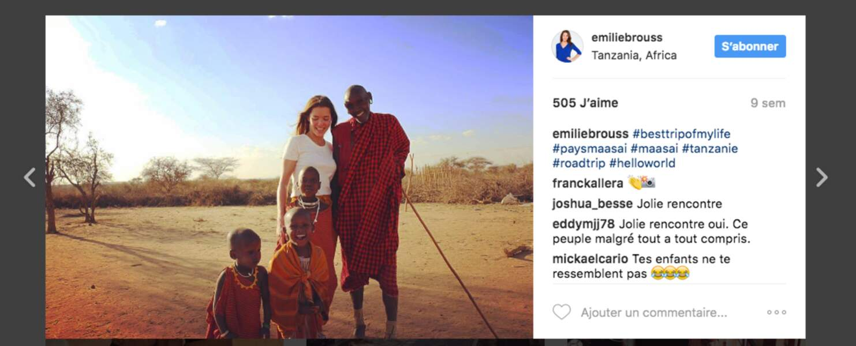"Belle rencontre en Tanzanie, le plus ""beau voyage de sa vie"""