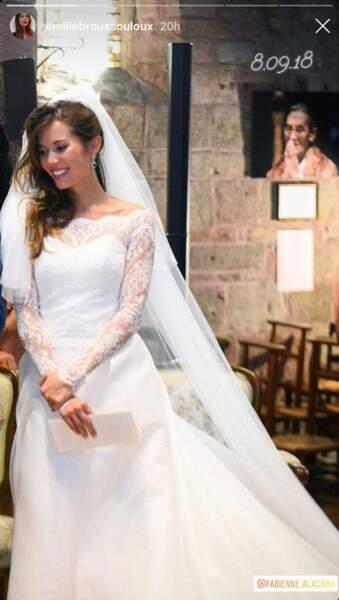 Le 8 septembre 2018, elle avait épousé Thomas Hollande, le fils de François Hollande et Ségolène Royal.