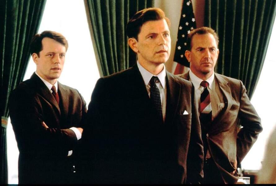 Bruce Greenwood en John F.Kennedy dans Treize jours, en 2000