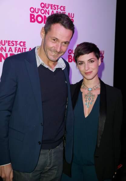 Julien Boisselier (47 ans) et sa compagne l'actrice Clémence Thioly (30 ans).