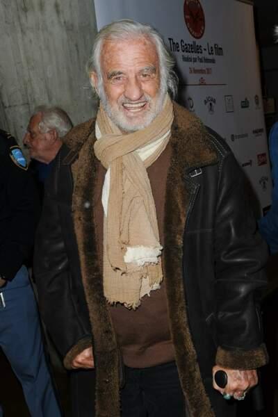 Jean-Paul Belmondo assistait à la projection du film Gazelles