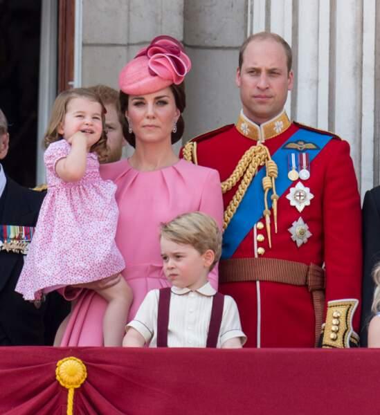 La touche liberty, présente sur de nombreuses tenues de la princesse Charlotte