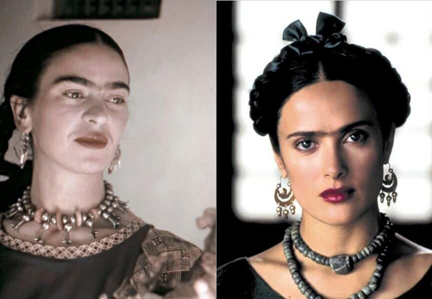 Salma Hayek interprète Frida Kahlo