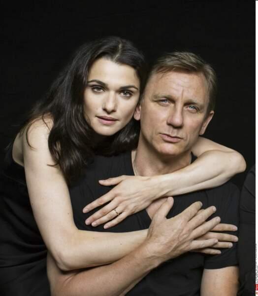 Daniel Craig et Rachel Weisz en 2013 à New-York
