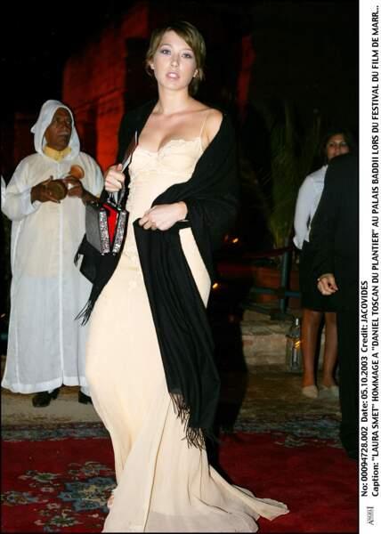 Laura au Festival de Marrakech