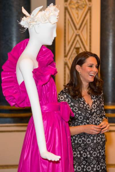 "Kate Middleton célèbre le ""Commonwealth Fashion Exchange"""