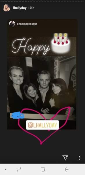 PHOTOS - Laeticia Hallyday mal-aimée : elle prouve qu'elle n'est pas seule pour son anniversaire
